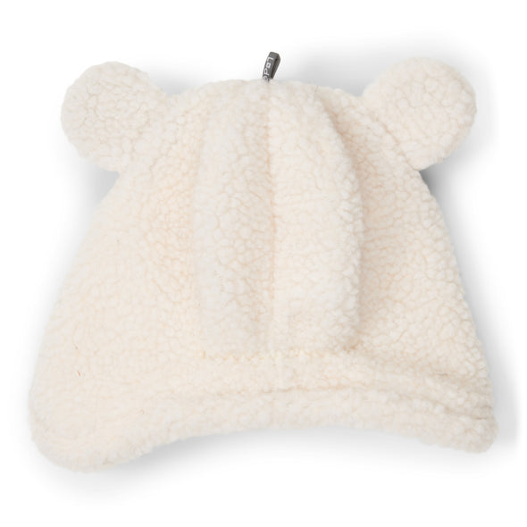 Cappello in Pile con Orecchie Empire Off-white | LODGER | RocketBaby.it