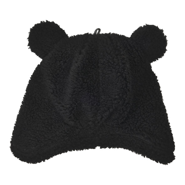 Cappello in Pile con Orecchie Empire Black | LODGER | RocketBaby.it