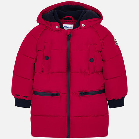 Bomber Lungo Rosso | MAYORAL | RocketBaby.it