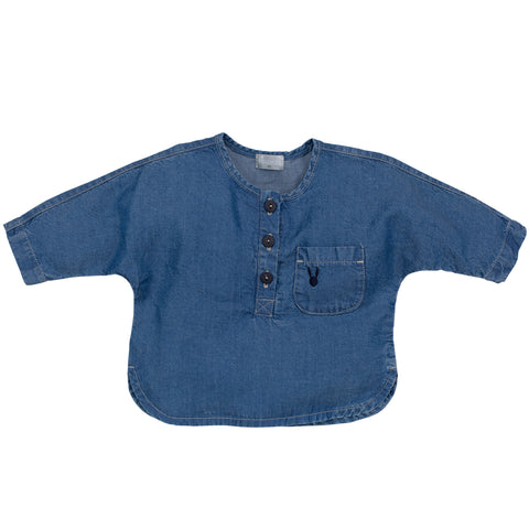 Blusa Colette Blue | PINOKIO | RocketBaby.it