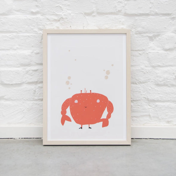 Poster Mrs Crab |  | RocketBaby.it