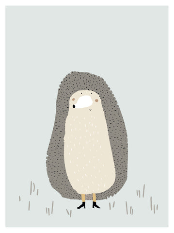 Poster Mrs Hedgehog |  | RocketBaby.it