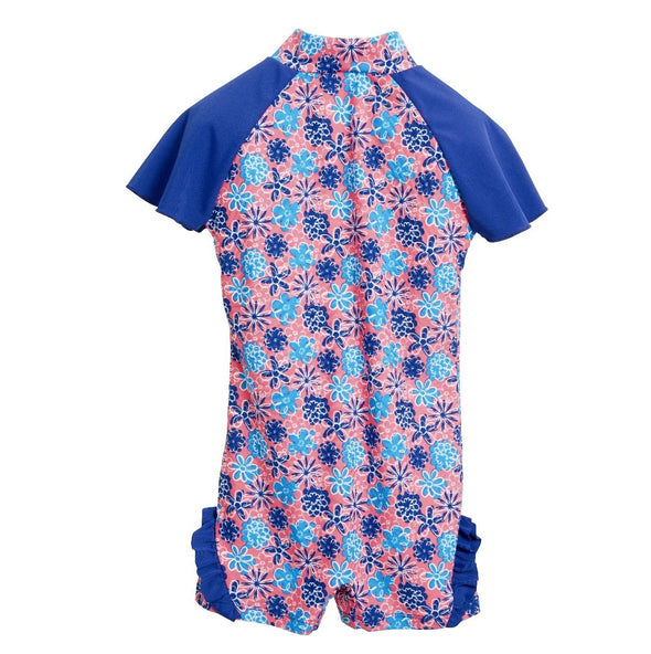 Costume Tuta Flowers Blue | PLAYSHOES | RocketBaby.it