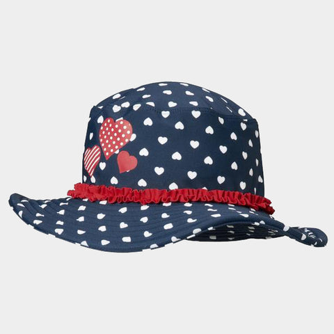 Cappello da Sole Hearts | PLAYSHOES | RocketBaby.it