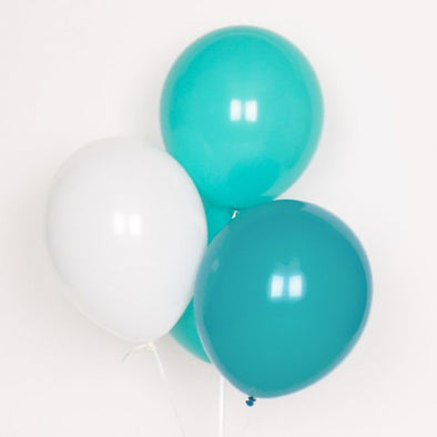 10 Palloncini Aqua Mix | MY LITTLE DAY | RocketBaby.it