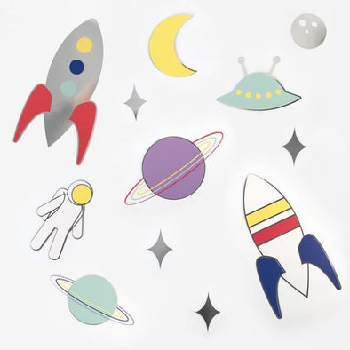 Decorazioni in Carta Cosmic | MY LITTLE DAY | RocketBaby.it