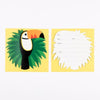 Set 8 Inviti per Party Toucan | MY LITTLE DAY | RocketBaby.it