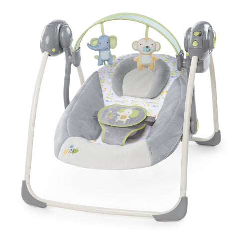 Altalena Portatile Lusso Grey | MIKY | RocketBaby.it