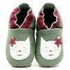 Babbucce Soft Sole Grey White Cat | FIORINO | RocketBaby.it