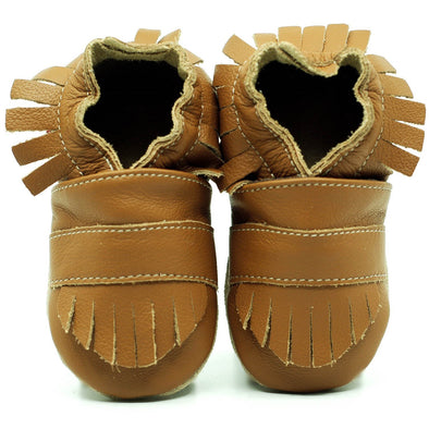 Babbucce Soft Sole Boho Light Brown | FIORINO | RocketBaby.it