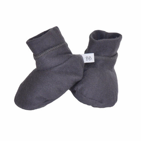 Babbucce Soft Sole Dark Grey | BAMBOOM | RocketBaby.it