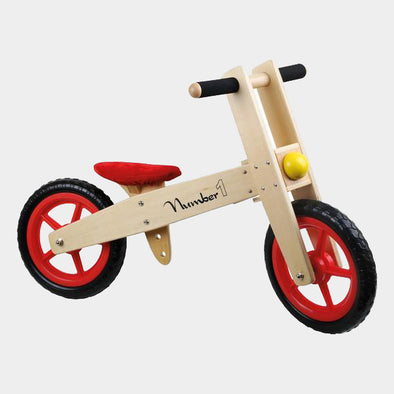 Bicicletta in Legno Balance Bike Number One | LEGLER | RocketBaby.it