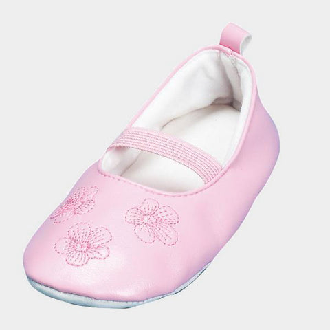 Scarpe Antiscivolo da Casa Ballerina Flowers | PLAYSHOES | RocketBaby.it