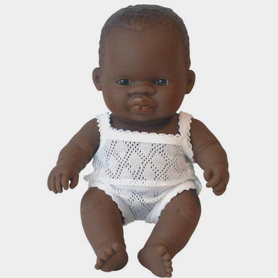Bambola Neonato con Body Mark o Rebecca 21 cm | MINILAND | RocketBaby.it