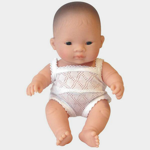 Bambola Neonato con Body Paul o Sophie 21 cm | MINILAND | RocketBaby.it