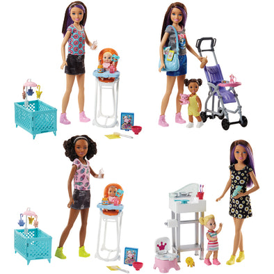 Set Gioco Barbie Sister Babysitter | MATTEL | RocketBaby.it