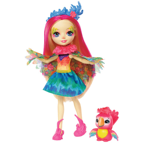 Bambola Enchantimals Peeki Parrot | MATTEL | RocketBaby.it