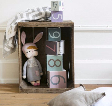 Bambola Coniglio Little Bunny Grey | MINIROOM | RocketBaby.it