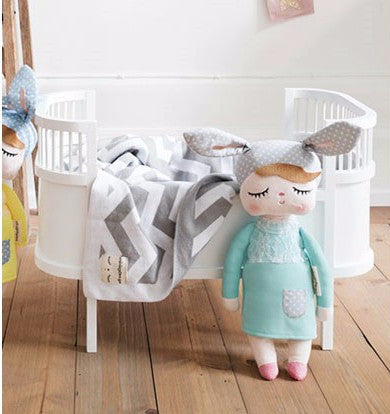 Bambola Coniglio Little Bunny Menta | MINIROOM | RocketBaby.it
