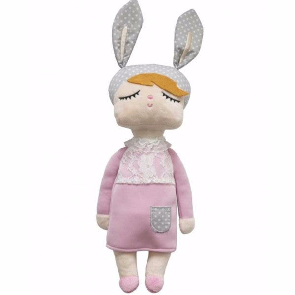 Bambola Coniglio Little Bunny Rosa Limited Edition | MINIROOM | RocketBaby.it