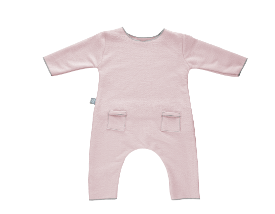 Tutina Rosa in fibra di bamboo | BAMBOOM | RocketBaby.it
