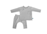 Twin Set Grigio in fibra di bamboo - RocketBaby - 1