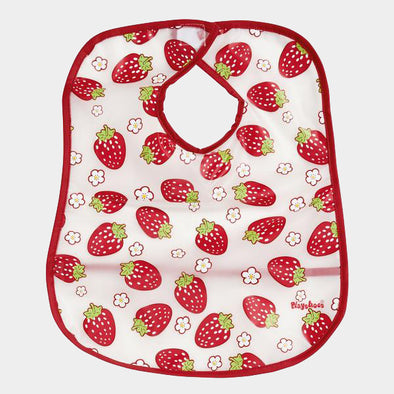 Bavaglino con Tasca Strawberries Allover | PLAYSHOES | RocketBaby.it