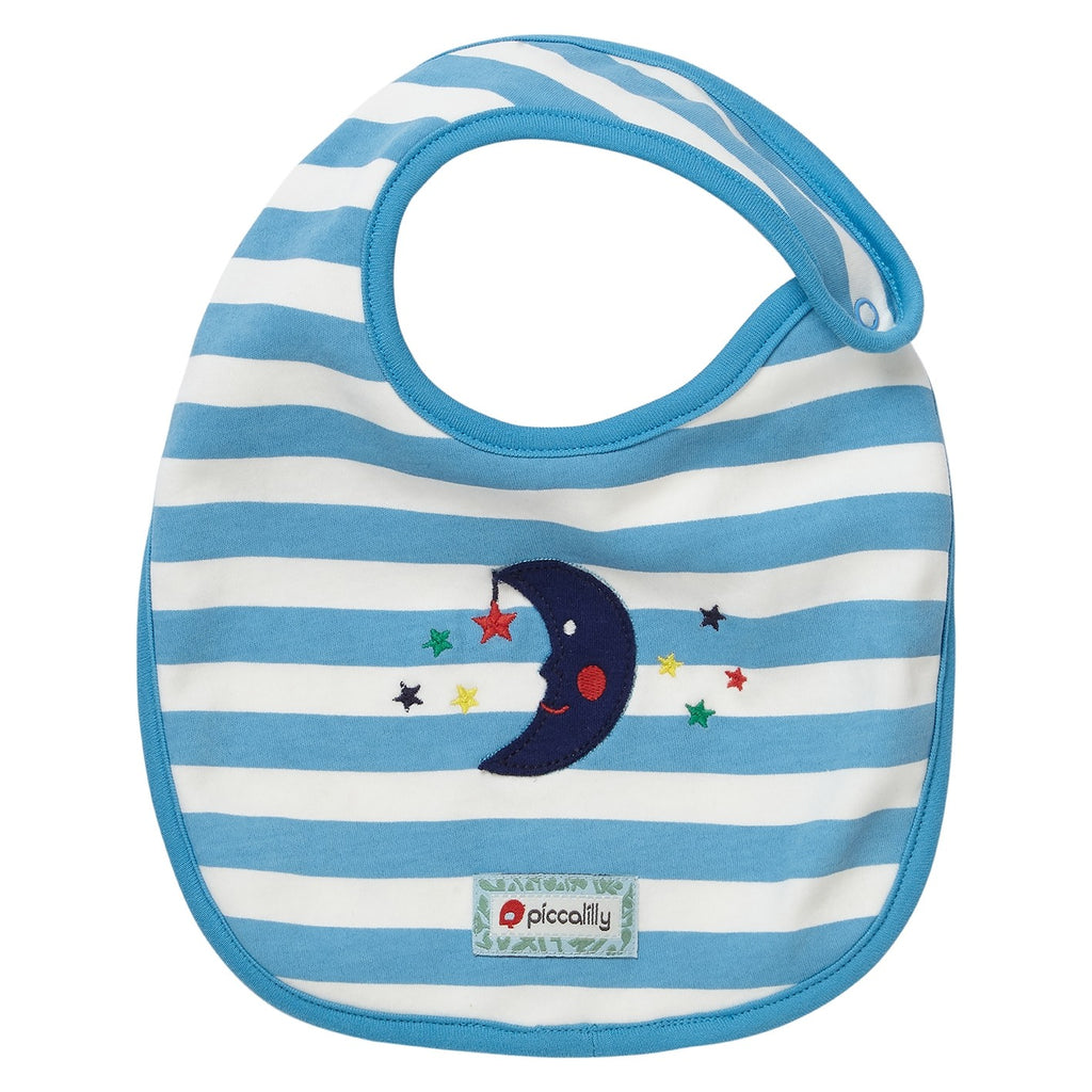 Bavaglino Reversibile Classic Space | PICCALILLY | RocketBaby.it