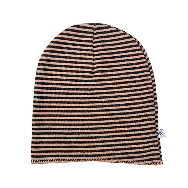 Berretto Striped Ocra Grey | BAMBOOM | RocketBaby.it