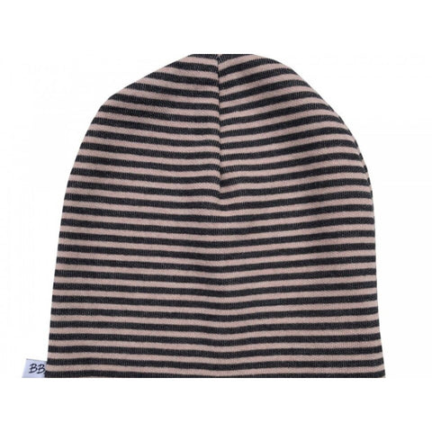 Berretto Striped Pink Grey | BAMBOOM | RocketBaby.it