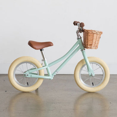 Bicicletta Gingersnap Balance Green Mint | BOBBIN | RocketBaby.it