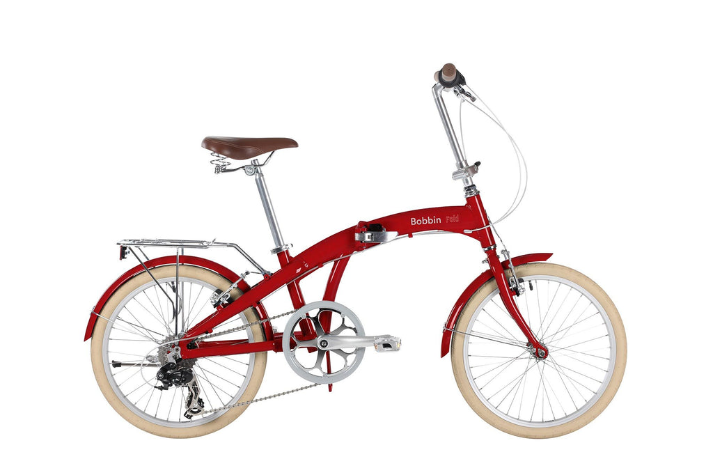 Bicicletta Fold Red | BOBBIN | RocketBaby.it