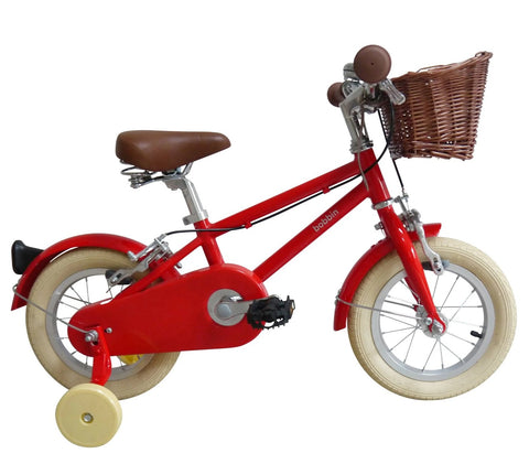 Bicicletta Moonbug 12 Gloss Red | BOBBIN | RocketBaby.it