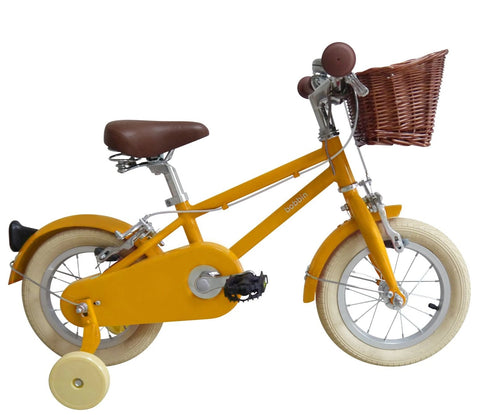 Bicicletta Moonbug 12 Yellow | BOBBIN | RocketBaby.it