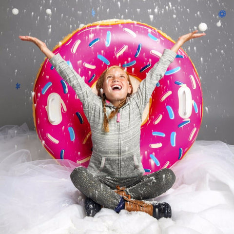 Slittino Gonfiabile da neve Donut Gigante XXL | BIG MOUTH | RocketBaby.it