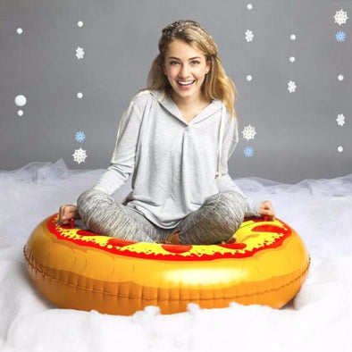 Slittino Gonfiabile da neve Pizza Gigante XXL |  | RocketBaby.it
