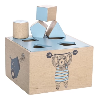 Box Geometrie Azzurro | BLOOMINGVILLE | RocketBaby.it