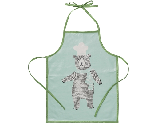 Grembiule da Cucina verde Waterproof | BLOOMINGVILLE | RocketBaby.it