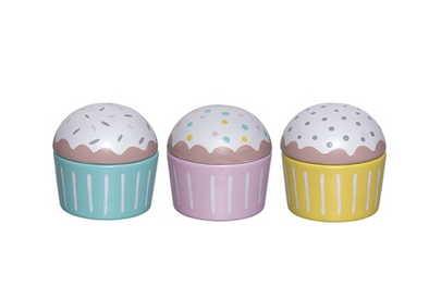 3 Cupcakes Legno |  | RocketBaby.it