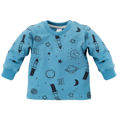 Felpa Maniche Lunghe Big Dream Blu | PINOKIO | RocketBaby.it
