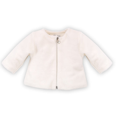 Blousa Maniche Lunghe con Zip Magic Ecru | PINOKIO | RocketBaby.it
