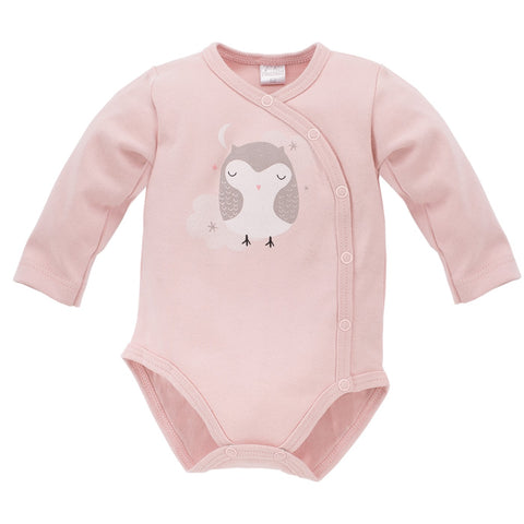 Body Maniche Lunghe Con Bottoni Magic Rosa | PINOKIO | RocketBaby.it