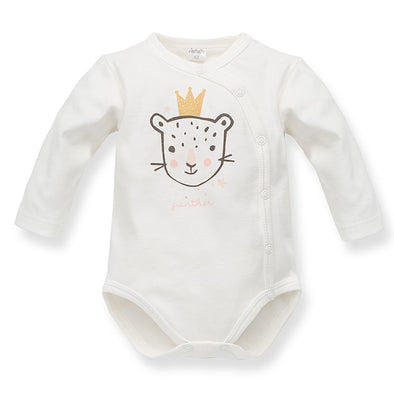 Body Maniche Lunghe Con Bottoni Sweet Panther Ecru | PINOKIO | RocketBaby.it