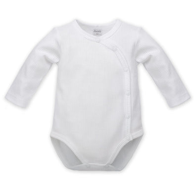 Body Maniche Lunghe Con Bottoni White | PINOKIO | RocketBaby.it