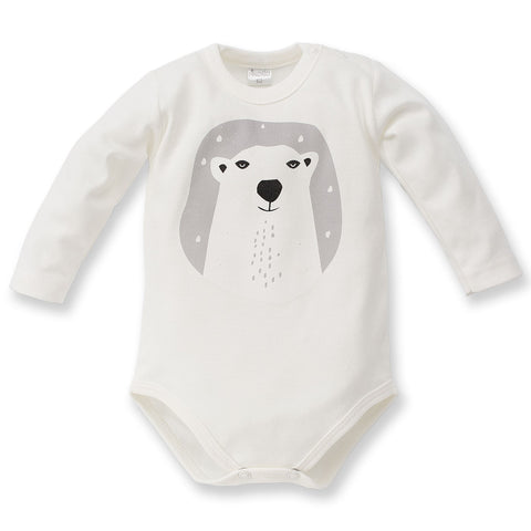 Body Maniche Lunghe North Ecru | PINOKIO | RocketBaby.it