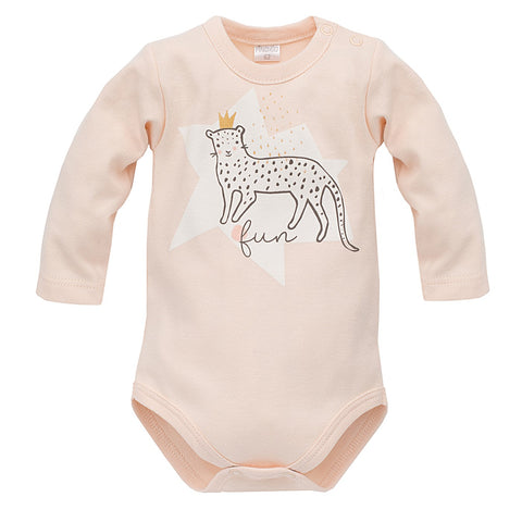 Body Maniche Lunghe Sweet Panther Rosa | PINOKIO | RocketBaby.it