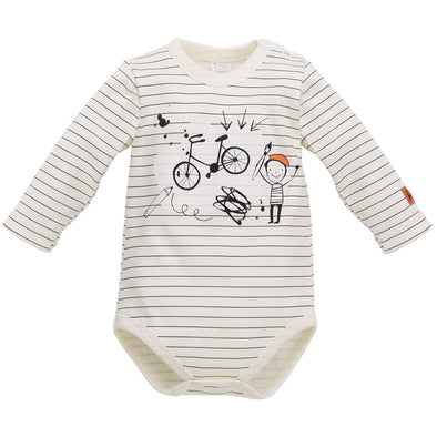 Body Maniche Lunghe Xavier Stripes | PINOKIO | RocketBaby.it