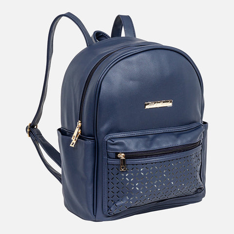 Zaino con Dettagli Traforati Navy | MAYORAL | RocketBaby.it