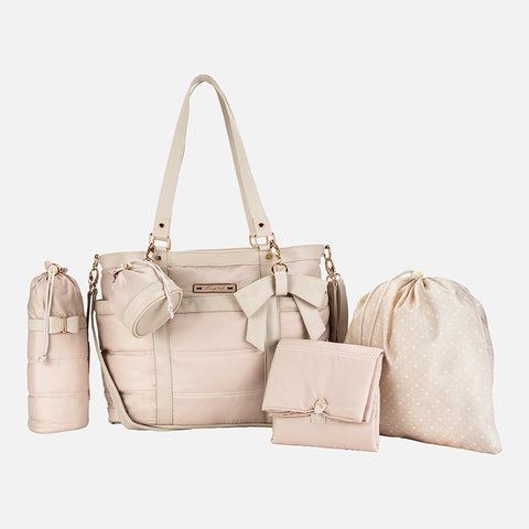 Borsa Fasciatoio con Accessori Taupe | MAYORAL | RocketBaby.it