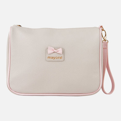 Pochette con Fiocco Old Pink | MAYORAL | RocketBaby.it